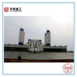 90 M3/H Concrete het Groeperen het Mengen zich Installatie met de Dienst Overzee
