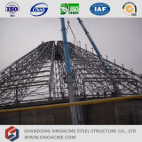 Estructura de acero del transportador prefabricado para la planta del cemento