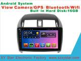 De androïde Bloemkroon van Navigationfor Toyota van de Speler van de Auto DVD van het Systeem het Scherm van de Aanraking van 10.1 Duim met GPS/Bluetooth/TV1