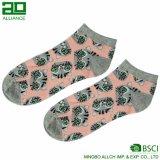 Изготовленный на заказ цветастый носок лодыжки платья