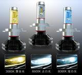 faro automatico di Philips LED della lampadina di 3000lm H8/H11/H16