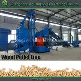 1-10 usine en bois de boulette de biomasse complète de t/h à vendre