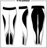 Neues Ankunfts-Frauen-Yoga keucht Spitzenelastizität-Eignung-Komprimierung-Strumpfhosen