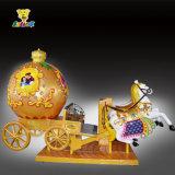 Königliche Fahrinnenmünzenkiddie-Fahrspiel-Maschinen-Schwingen