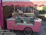 販売のためのイタリアのGelatoのアイスクリームのカートのショーケースかアイスクリームのフリーザー