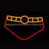 Luz de neón de la carta de la flexión de la muestra de la marca de fábrica de la baja tensión modificada para requisitos particulares