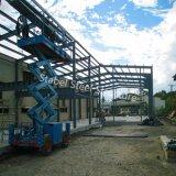 Struttura d'acciaio dell'indicatore luminoso della costruzione di Pre-Ingegneria per il magazzino prefabbricato