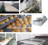 Forno de túnel elétrico profissional do fabricante para a linha de produção do biscoito do pão