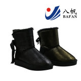 2016 Moda feminina Shining Fabric Upper Snow Boots Bf1610231
