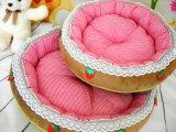 Kleines Erdbeere-Art-Hundebett u. Haustier-Bett