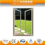 Puertas de plegamiento de aluminio, disponibles en varios colores de la fábrica del aluminio de Guangdong Weiye