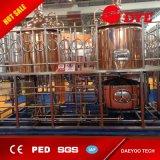 Acero inoxidable o cobre rojo Cerveza comercial Equipo de la cervecería Equipo del hotel para la venta