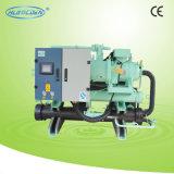 Tipo tipo refrigerador de refrigeração água do escudo e da câmara de ar do parafuso