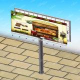 Carretera popular vendedora caliente de los muebles firmes al aire libre de la estructura de acero que hace publicidad de la cartelera de la columna de la visualización
