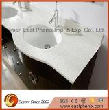 浴室または台所のための自然な磨かれた白い水晶虚栄心