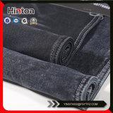 Черный цвет Терри одежду Forchildren ткани джинсовой ткани