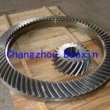 Het roterende Spiraalvormige Konische Tandwiel van de Lijst Zp37.5 (OD1540mm)