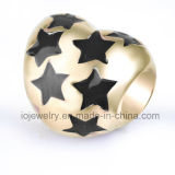 Parels van het Metaal van de Douane van de Gift van de Juwelen van het Hart van Kerstmis de Sterrige