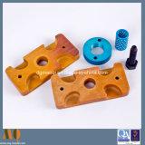 Geanodiseerde CNC van het Aluminium Draaiende Delen (MQ641)