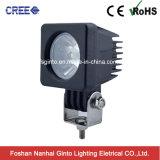 Éclairage d'endroit de véhicule/moto de lumière de travail des pièces d'auto 10W DEL pour le camion