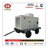 Tipo movible generador de potencia (10-1200KW) del acoplado de Cummins