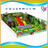 Спортивная площадка популярных малышей темы джунглей крытая мягкая (A-15218)