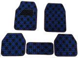 Teste padrão liso da verificação da almofada do pé do tapete do carro