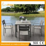 Rahmen Puder-überzogene Aluminiumgarten-Freizeit-Tisch-Gaststätte-Möbel-in den im Freien Speisetisch-Bistros