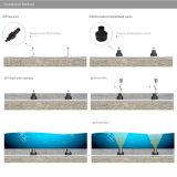Éclairage du jardin DEL de lampe de piscine de lumière d'endroit de Xbd DEL de CREE d'IP68 3W 12V 24V