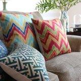 Conjunto de lino de la almohadilla de tiro del algodón ambiental del negocio