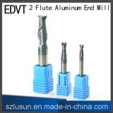 Ferramenta de estaca de alumínio do moinho de extremidade de Edvt 2flute