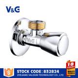 Le CE de Valogin a modifié la soupape de cornière en laiton de qualité de techniques (VG14.11721)