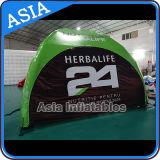 Im Freien preiswertes Belüftung-Gewebe-aufblasbares kampierendes Zelt