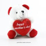 Oso feliz del peluche del día de madre