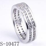 Spitzenprodukt-Form-Schmucksache-Silber-Ring