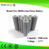 batteria cilindrica della ricarica dello Li-ione dei 18650 di 3.7V 2500mAh collegare del PCM