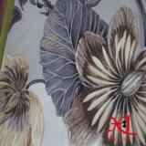 Tissu 100% de textile de capitonnage de tissu de sofa de Chenille de jacquard de polyester