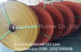 Flacher Transmissionsriemen-flacher Transmissionsriemen-endloser flacher Gummiriemen hergestellt in China
