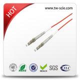 Duplex cordon de connexion d'intérieur de connecteur de Sc-Sc de fibre optique de SM de 2.0mm ou de 3.0mm
