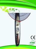 16 pouces de 12V de C.C de panneau de ventilateur d'or de stand
