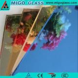 Le miroir en aluminium de mur de Frameless pour la construction décorative avec le CTC reconnaissent