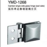 Alta calidad de fundición de acero inoxidable herrajes para puertas de cristal
