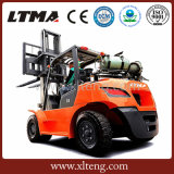 3 ton aan Prijs van de Vorkheftruck van de Benzine van 6 Ton de Hydraulische Automatische