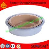 Diámetro cacerola redonda del esmalte de los 24-40cm/molde para pasteles/cacerola de hornada