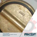 C954 Vleugelklep van het Brons van het Aluminium de Gevoerde Rubber