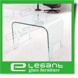 Cancelar a tabela lateral de vidro curvada nos pés redondos