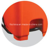 Maagdelijk HDPE Materiaal van 240L de Plastic Mobiele Bak van het Huisvuil met MiddenPedaal (fls-240L/HDPE/EN840)