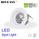 lumière anti-éblouissante de café du projecteur SMD DEL DEL d'ÉPI de Ce&RoHS DEL de l'éclairage LED 3W