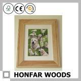 Рамка младенца рамки фотоего домашнего украшения деревянная