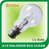 Электрическая лампочка галоида A19 E27/B22